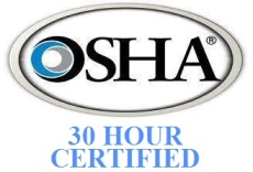 osha 30 hr trained logo